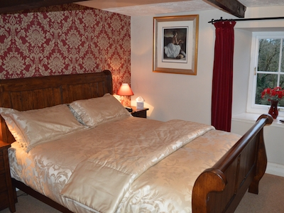 The Hayloft Room at the Old Mill House Bed & Breakfast Padstow