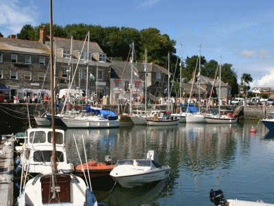 Padstow is a historic fishing village with a lovely range of shops and restaurants